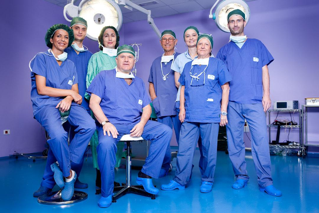 Pier Antonio Bacci sala operatoria